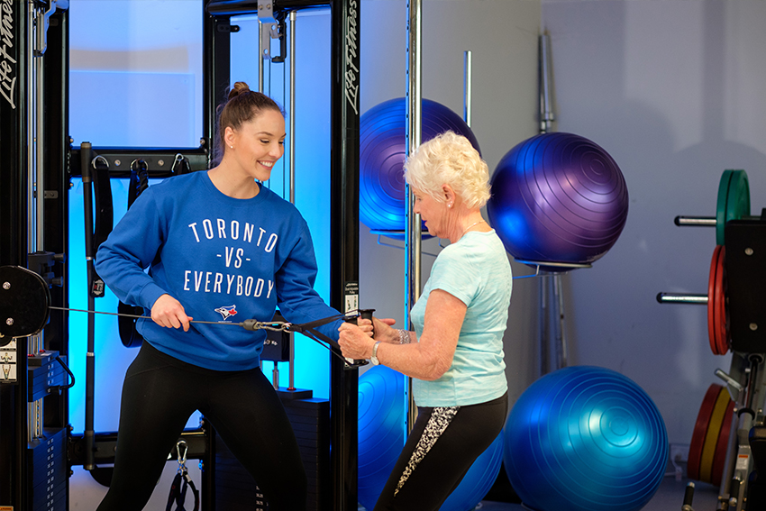PhD student Ashley Gluchowski explores strength training for older adults