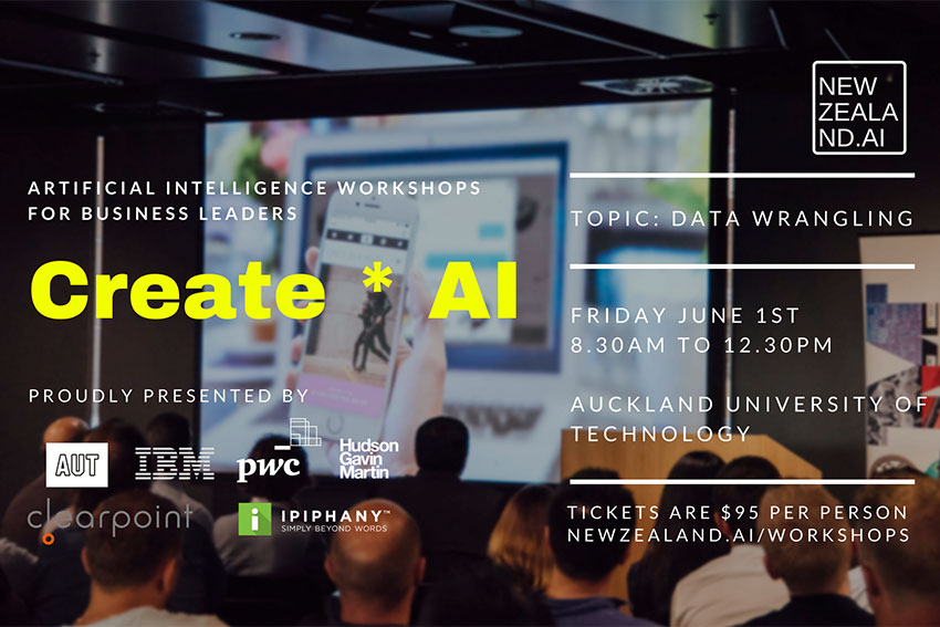 AI workshop series in June and July
