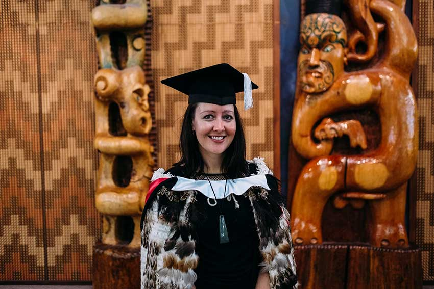Prestigious scholarship for AUT alumna
