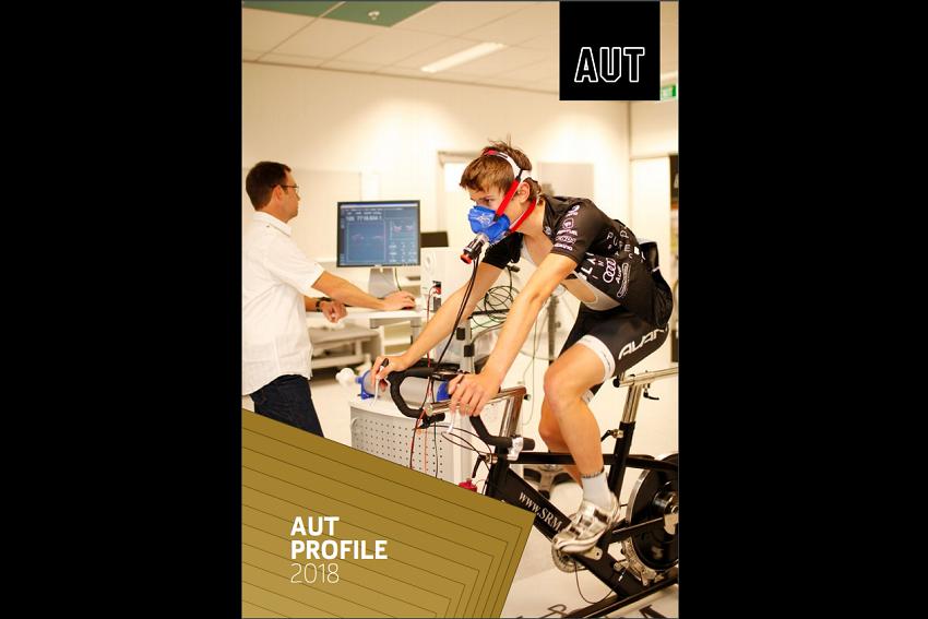 AUT Profile 2018 cover