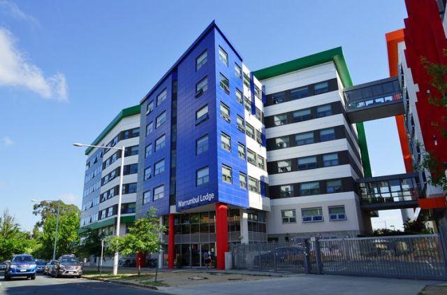 The ANU campus