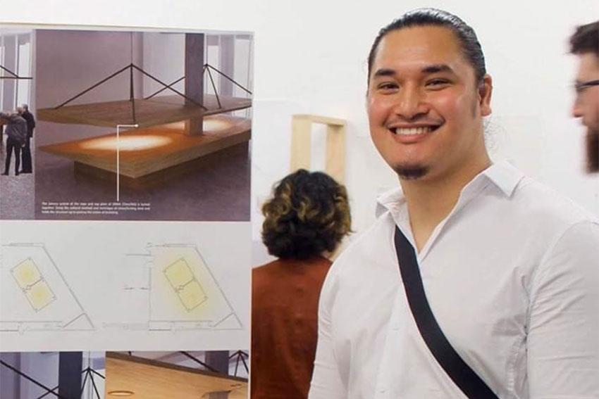 AUT Spatial Design grad Mossiah Fina'i
