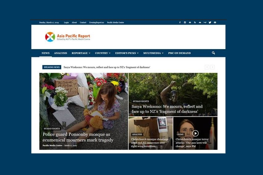 Asia Pacific Report website