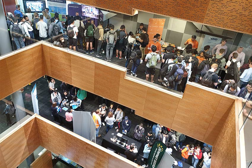 Careers fair at AUT