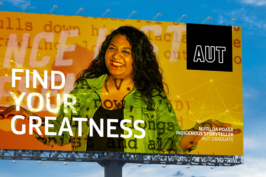 Matilda billboard