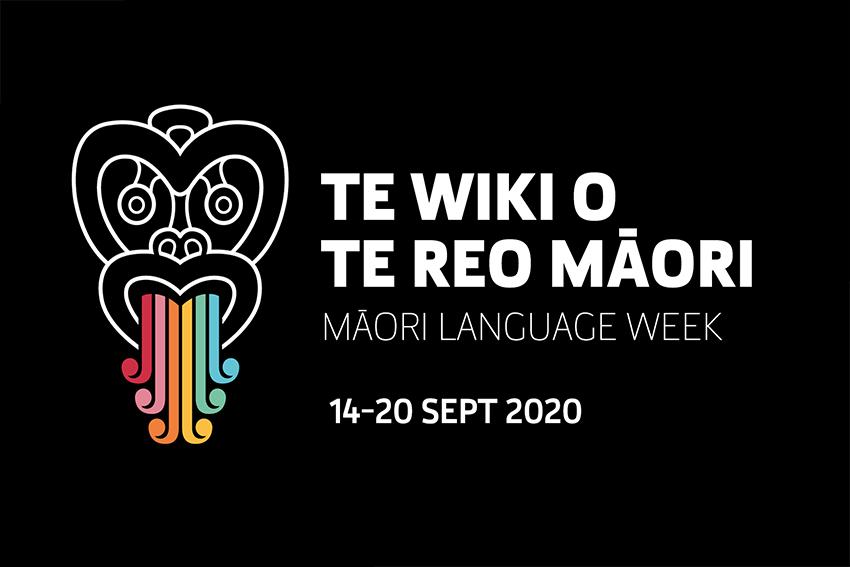 Māori Language Week logo