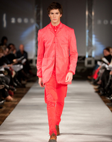 Menswear by Glenn Yungnickel on the Rookie 20009 runway