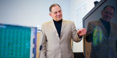 Nikola Kasabov presenting