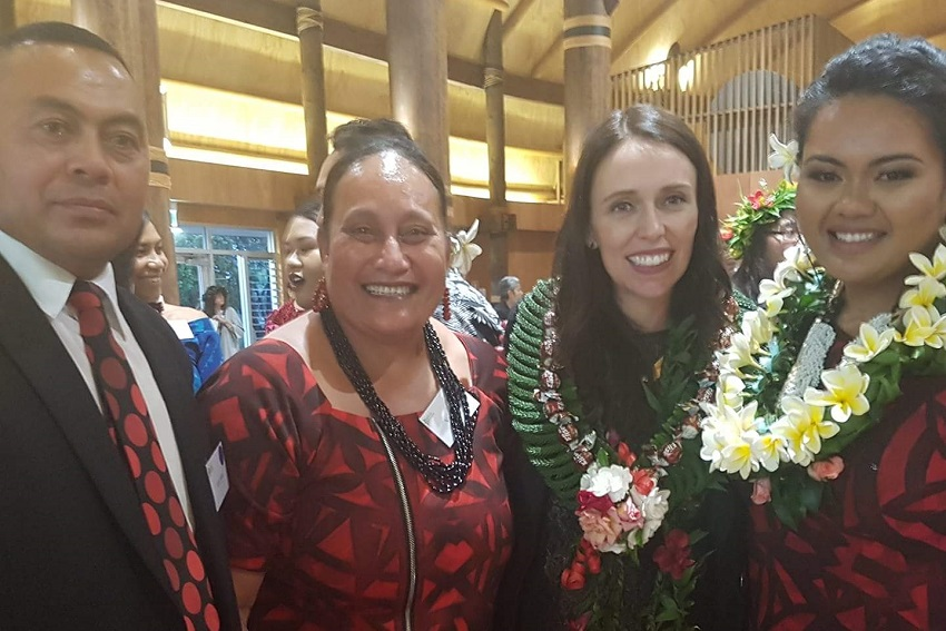 Hazel Umaga and Taylor McDonald are winners of the 2018 Pacific Youth Awards.