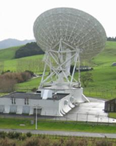 An AUT radio telescope