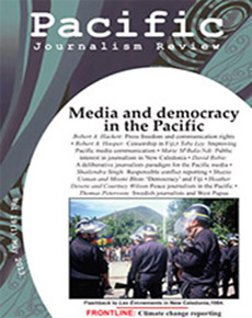 New Pacific Journalism Review challenges Pacific censorship, political 'shackles'