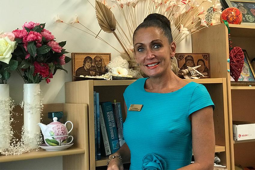 AUT lecturer and Cook Islander Lisa Sadaraka