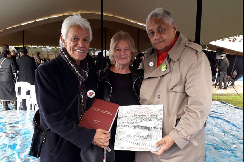 Ngāti Whātua Ōrākei: Alec Hawke, Elizabeth Turner and Will 'Ilolahia