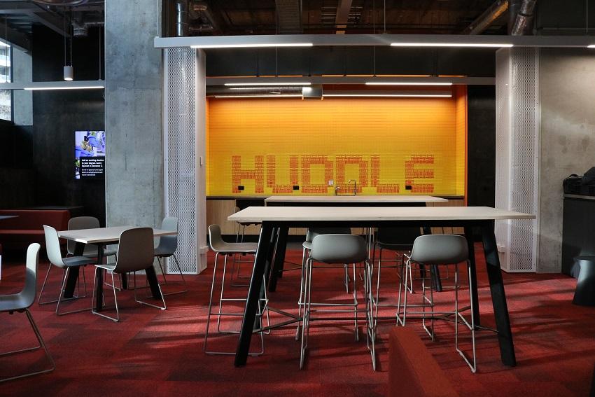 WQ huddle space