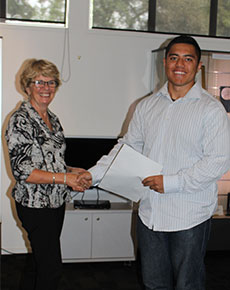 Budding rugby star receives 2016 AUT-Ponsonby Rugby Club scholarship