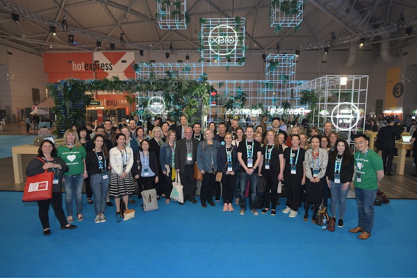 Group photo of participants at  Xerocon