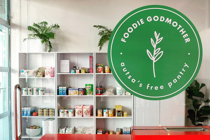 AUTSA's Foodie Godmother pantry