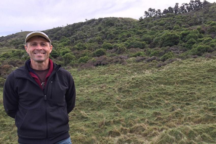 AUT Ecologist Dr Bradley Case