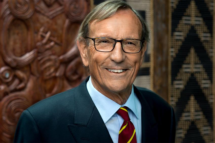 AUT Chancellor John Maasland