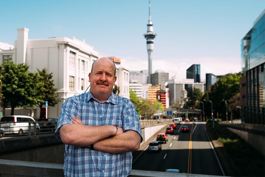 Professor John Tookey in Auckland CBD