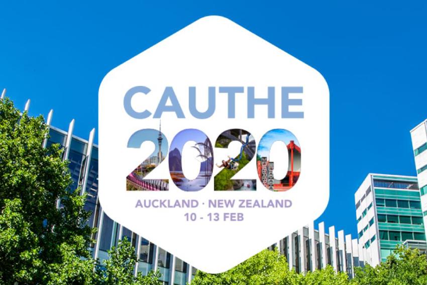 CAUTHE 2020 branding