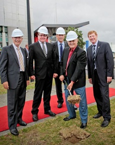 Ground-breaking moment at AUT Millennium