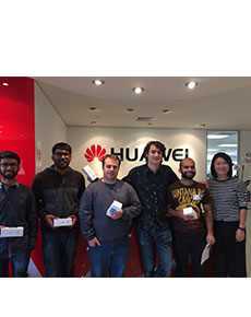 Computer and engineering students head to China with Huawei