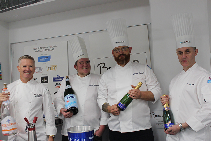 John leads a team consisting of Candidate Andrew Ballard, Coach Corey Hume and Commis Quillan Gutberlet