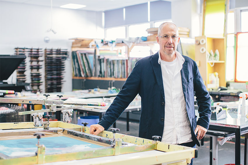 AUT Head of Art and Design Dr Andrew Withell