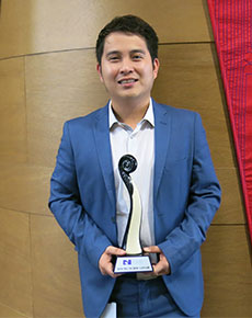 Young Nurse of the Year goes to AUT lecturer