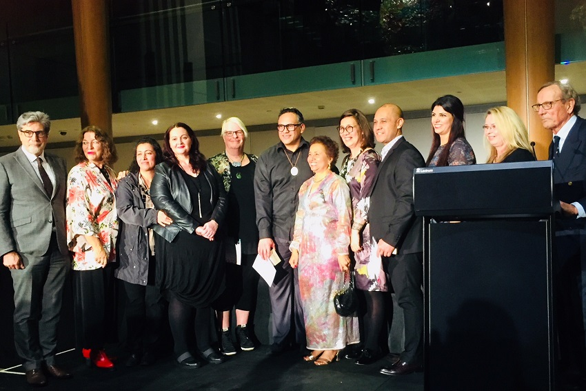 Award recipients group photo
