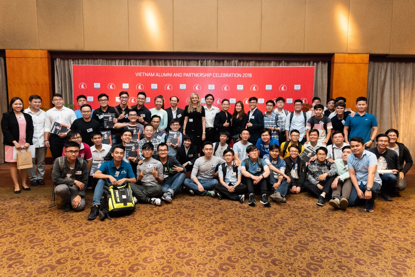 Photo from the AUT event in Vietnam