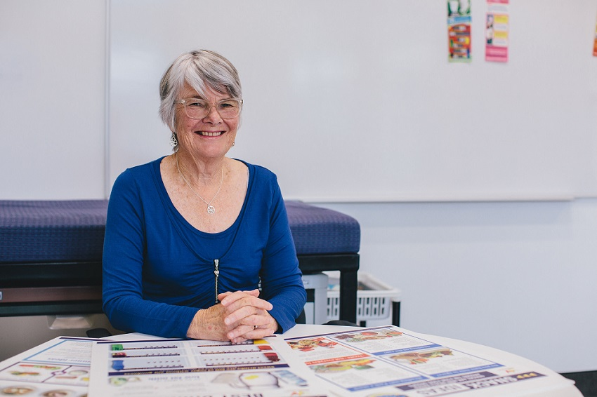 Emeritus Professor of Nutrition, Elaine Rush