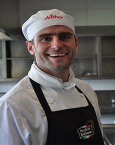 AUT student proud to be a chef