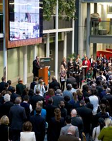 Business opens doors for Leadership Week