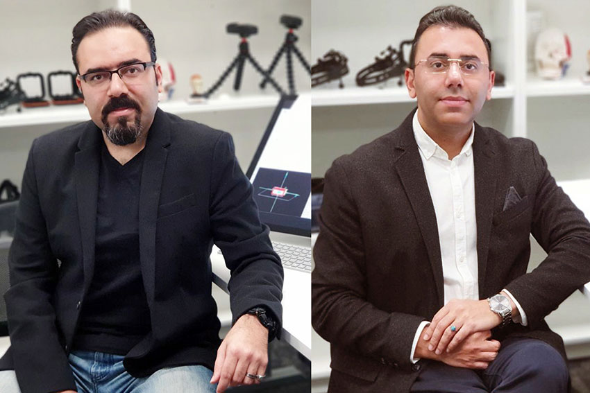 AUT Architectural Engineering lab directors Dr Ali Ghaffarainhoseini and Dr Amirhosein Ghaffarianhoseini