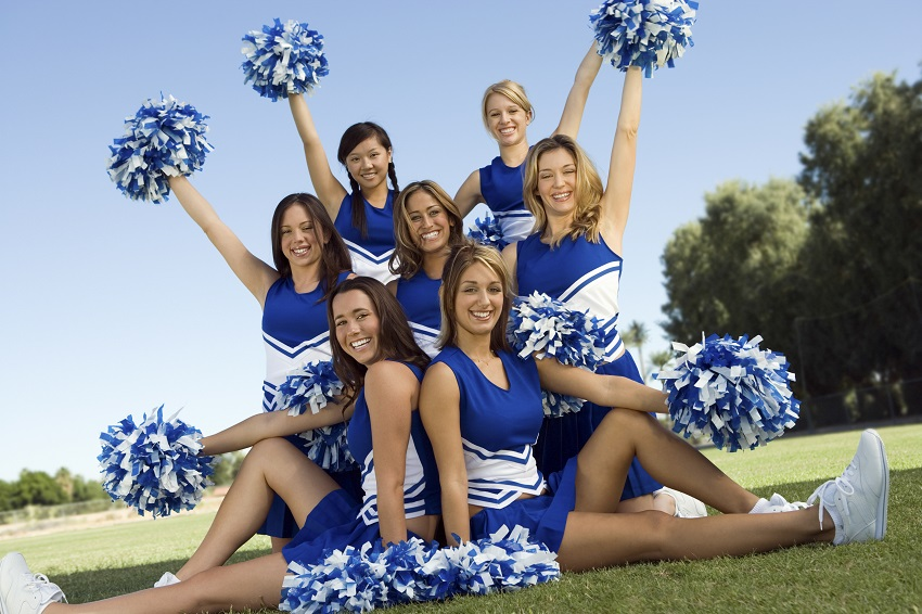 Cheerleaders are athletes