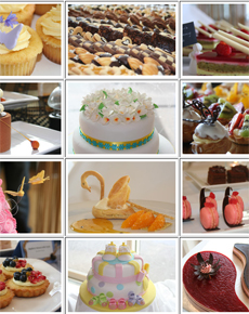 Pâtisserie showcase impresses