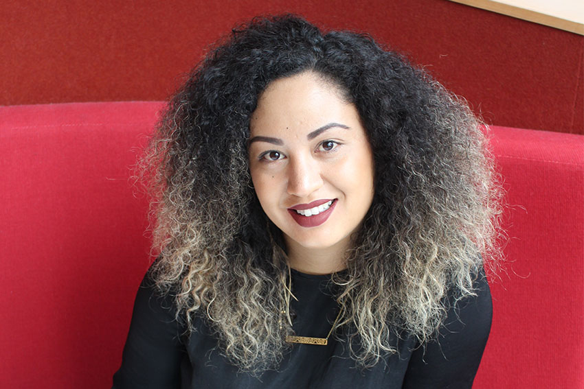 AUT fourth-year law student Te Puea Matoe