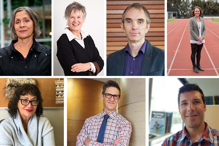 AUT's new Professors