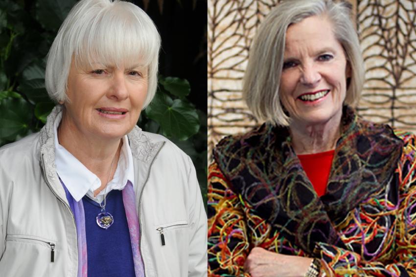 Professor Margaret Wilson and Professor Judy McGregor