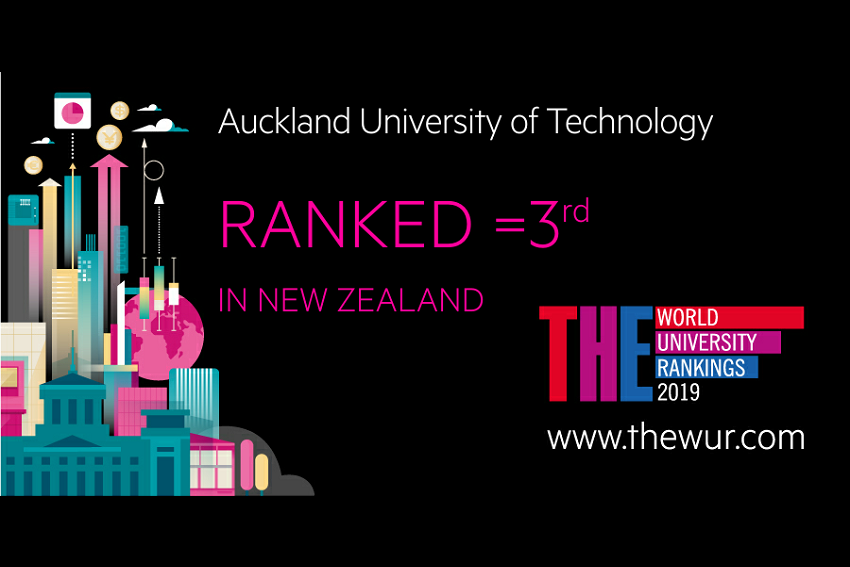 THE rankings place AUT in NZ top three