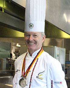 Culinary lecturer in winning team at the International Culinary Olympics