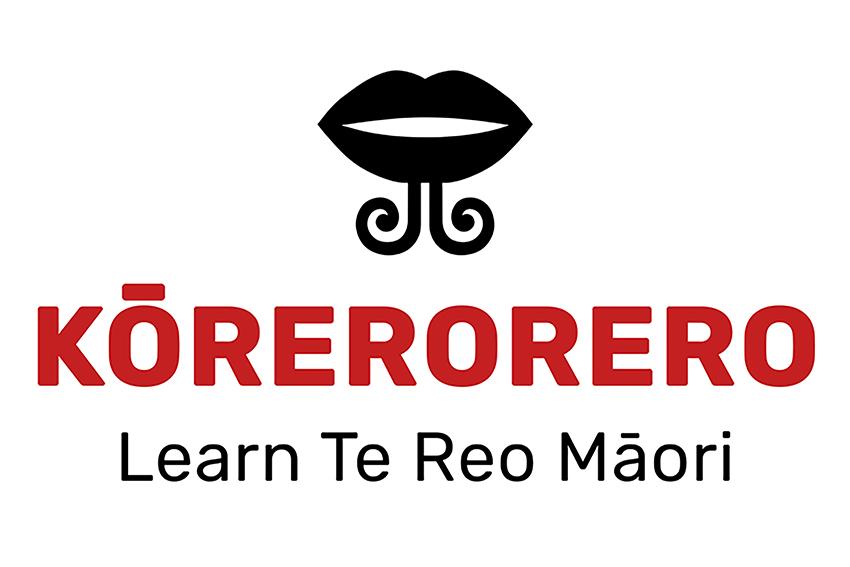 Kōrerorero logo
