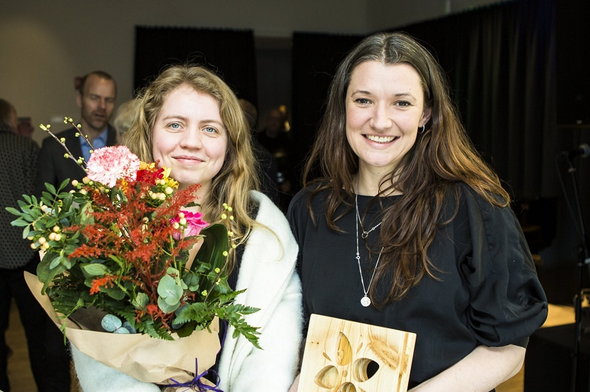Sesselja Jonasardottir and Celia Harrison