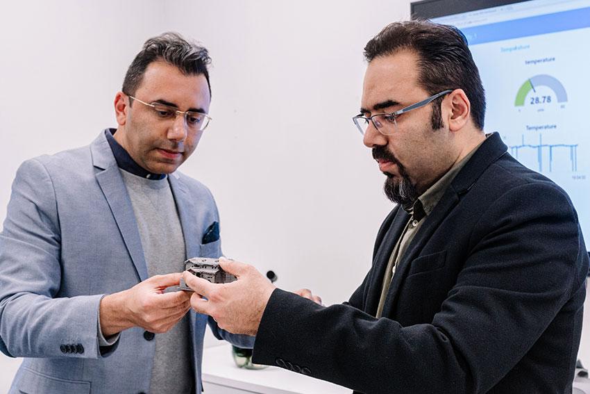 Dr  Amir Ghaffarianhoseini and Dr Ali GhaffarianHoseini